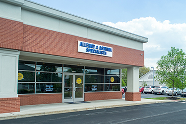 Allergy & Asthma Specialists office in Collegeville, PA